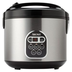 4. Aroma Digital Rice Cooker - 20 Cup Capacity