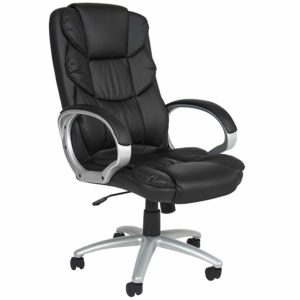 Best Choice Products Ergonomic PU Leather High Back Executive Chair