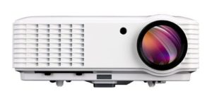 4. EUG HDMI Portable 1080p Widescreen LED LCD Projector