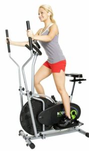 5. Body Rider BRD2000 Elliptical Dual Trainer with Seat