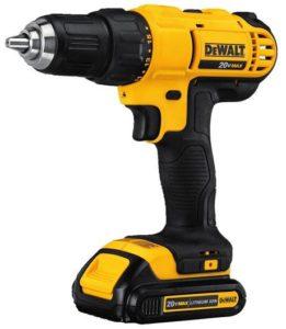 5. DEWALT DCD771C2 Cordless Drill Kit