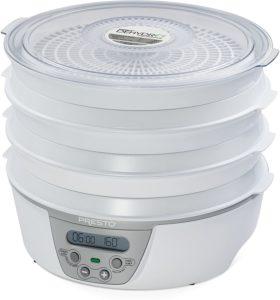 5. Presto 06301 Dehydro Digital Electric Food Dehydrator