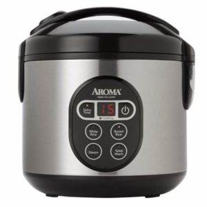 6. Aroma Digital Rice Cooker - 8 Cup Capacity