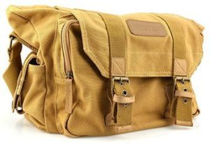 6. BESTEK Canvas Digital Camera Bag