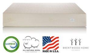 brentwood home 13inch gel hd memory foam mattress - Brentwood Mattress