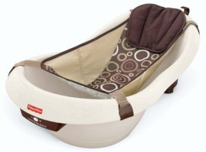 6. Fisher-Price Calming Waters Vibration Bathing Tub