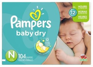 6. Pampers Baby Dry Diapers