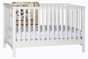 6. Stork Craft Hillcrest Fixed Side Convertible Crib