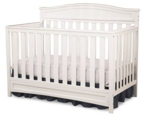 7. Delta Children Emery 4-in-1 Crib