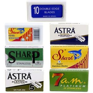 7. Double Edge Safety Razor Blade Variety Pack