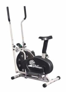 7. Palm Springs 2 in 1 Elliptical Cross Trainer