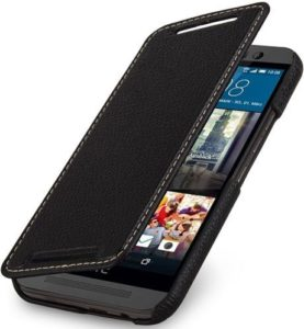 7. StilGut Book Type Cover For HTC One M9