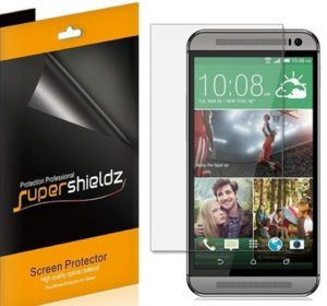 7. UPERSHIELDZ- Anti-Bubble High Definition Clear Screen Protector For HTC One M9
