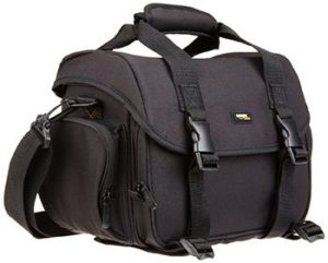 8. AmazonBasics Large Camera Bag