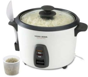 8. Black & Decker 16-Cup Rice Cooker RC436