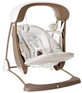 8. Fisher-Price Deluxe Take Along Swing and Seat