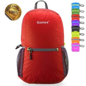 8. Gonex Ultra Lightweight Hiking Daypack