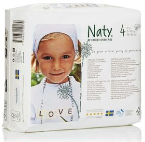 8. Naty Chlorine-Free ECO Diapers