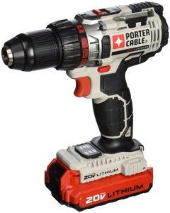 8. PORTER-CABLE PCC606LA Cordless Drill Kit