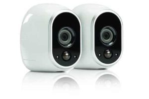 9. Arlo Smart Home Security Camera System