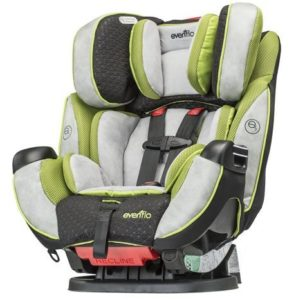 9. Evenflo Symphony Convertible Car Seat