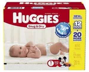 9. Huggies Snug and Dry Diapers
