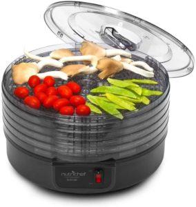 9. NutriChef Electric Countertop Food Dehydrator Machine