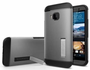 9. Spigen Air Cushion Slim Armor For HTC One M9