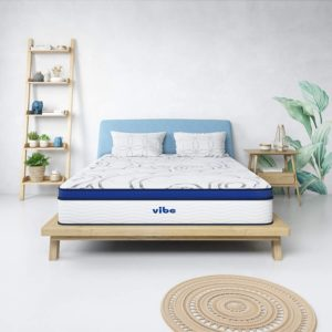9. Vibe Quilted Gel Memory Foam Mattress