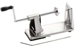 1. Maxam Stainless Steel Vegetable Spiral Slicer