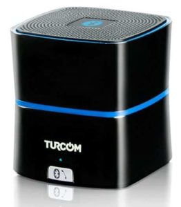 1. Turcom 5 Watt Enhanced Bass Portable Wireless Bluetooth Speakerphone