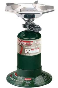 4. Coleman Bottle Top Propane Stove