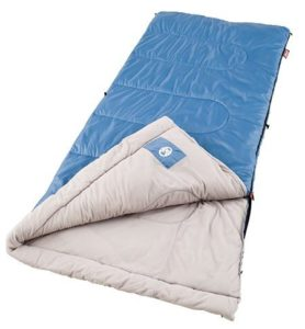 7. Coleman Trinidad Warm-Weather Sleeping Bag