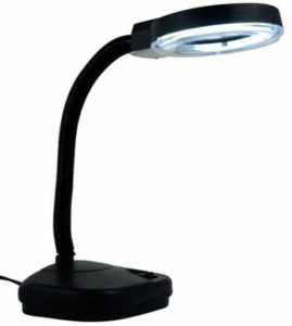 7. Hawk Reading Lamp And Illumination Magnifier
