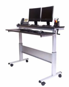 stand up desk store 60 inch adjustable stand up desk