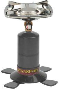 7. Stansport Single Burner 10,000 BTU Propane Stove