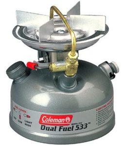 8. Coleman Sportster II Dual Fuel 1-Burner Stove