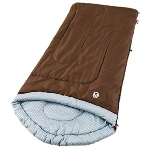 8. Coleman Willow Creek Warm-Weather Scoop Sleeping Bag