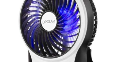 Top 10 Best Battery Operated Fans in 2018
