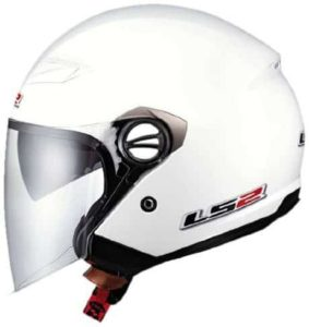 9. LS2 Helmets OF569 Open Face Motorcycle Helmet