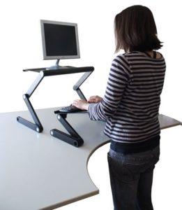 9. Uncaged Ergonomics Work EZ Standing Desk