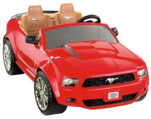 1. Fisher-Price Power Wheels Ford Mustang