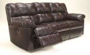10. Kennard Chocolate Reclining Power Sofa