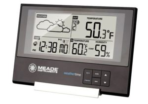 10. Meade Instruments TE346W Slim Line Personal Weather Station
