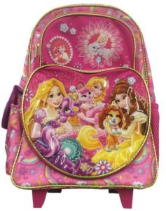 10. Princess Palace Pets 16 Rolling Backpack