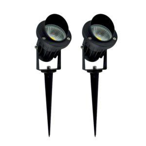 outdoor led spotlights stainless steel prodeli super bright outdoor led decorative spotlight lighting 7w cob top 10 best spotlights for sale in 2018