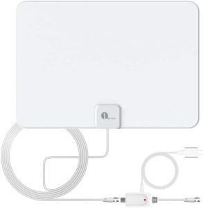 2. 1byone Amplified Indoor HDTV Antenna
