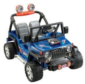 2. Fisher-Price Power Wheels Hot Wheels Jeep Wrangler