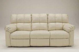 3. Ashley Kennard Leather Match Power Reclining Sofa