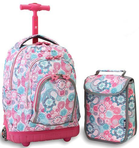 7eab34e1a057 Top 10 Best Rolling Backpacks For Girls in 2019